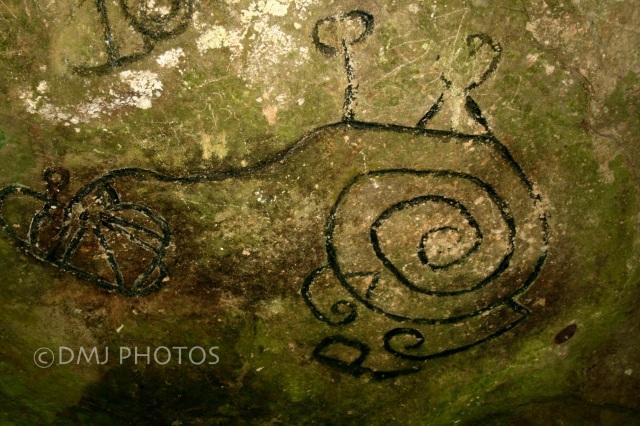 Petroglyphs in El Valle, Panama