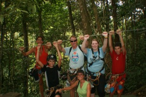 An amazing zip-lining experience!